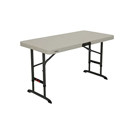 Amazon.com: Lifetime Products - Mesa plegable ajustable ...