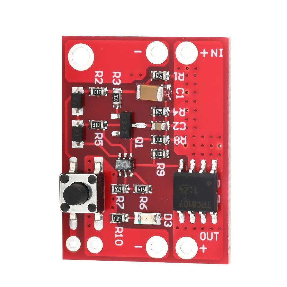 Electronic Switch Module One Key Analog Electronic Switch Module Touch Microswitch Board 3-13V 3A Battery Power Board Analog Electronic Switch
