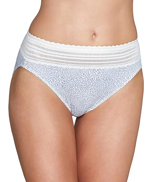 5a79d7d52e37 Warners Womens Women's No Pinches Lace Hi-Cut Brief Panty: Amazon.ca:  Clothing & Accessories