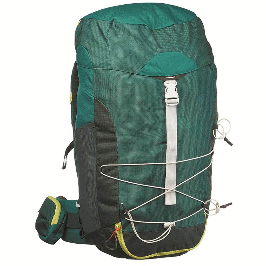 アウトドア登山バッグ男性と女性キャンプ屋外バックパック40L(グレー) (色 : B) B07GZGMCD3 B