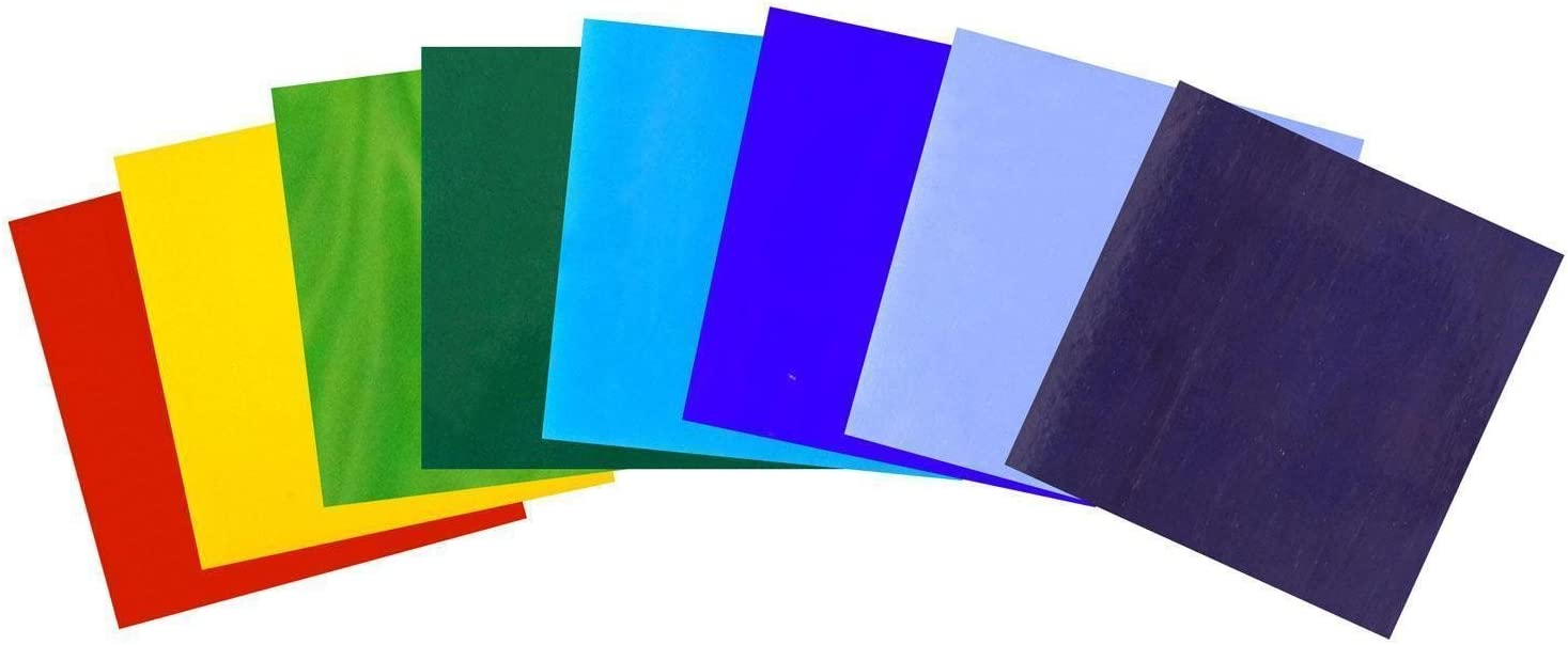 Rainbow Opalescents Glass Pack
