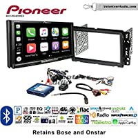 Volunteer Audio Pioneer AVH-W4400NEX Double Din Radio Install Kit with Wireless Apple CarPlay, Android Auto, Bluetooth Fits 2013-2014 Buick Enclave, 2013-2014 Chevrolet Traverse (Bose and Onstar)