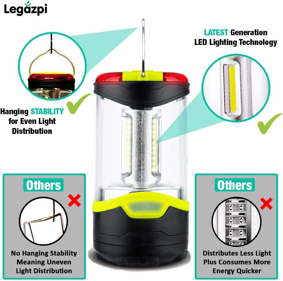 Lot de 2 lanternes de camping /à LED
