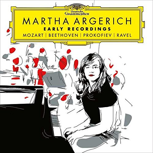 CD : Martha Argerich - Early Recordings: Mozart Beethoven Prokofiev Ravel (2 Disc)