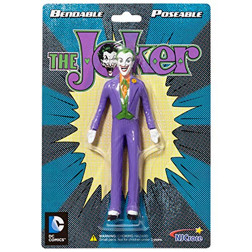 NJ Croce Classic Joker Action Figure, Multicolor