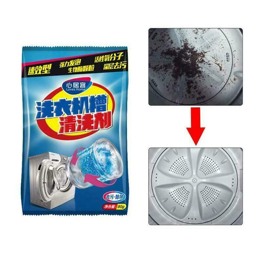 LIMITA Nettoyant Machine à laver Nettoyant en profondeur Déodorant Durable Détartrant 1 PCS (blanc)