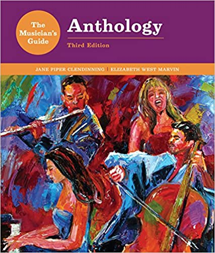 The Musician's Guide to Theory and Analysis Anthology (Third ...
