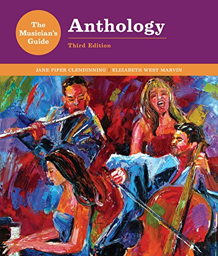 F.R.E.E The Musician's Guide to Theory and Analysis Anthology (Third Edition) [Z.I.P]