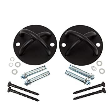 WNG Brands Suspension Trainer Wall Ceiling Mount Set - Heavy ...