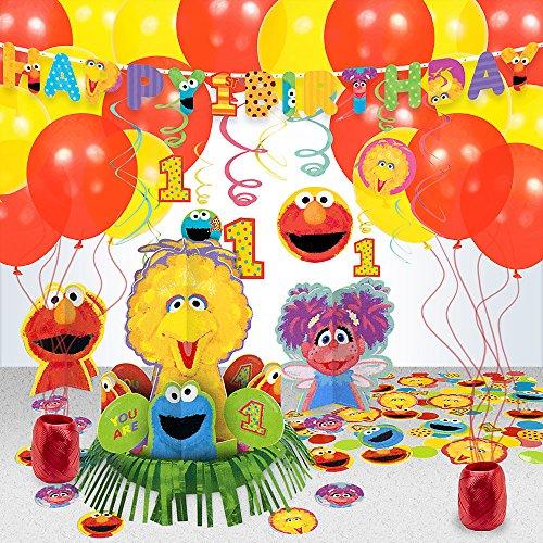Sesame Street 1st Birthday Decoration Kit