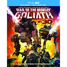 War of the Worlds-Goliath BD + Blu-Ray 3D (2012)