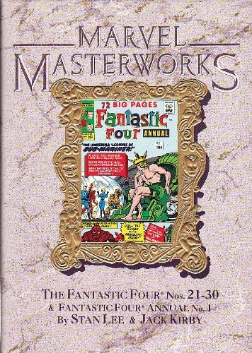 Marvel Masterworks #13 - Fantastic Four 21-30 and annual #1