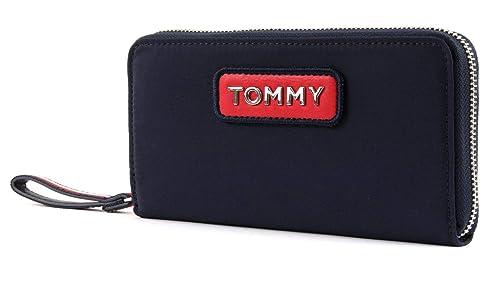 Tommy Hilfiger - Varsity Nylon Lrg Za Wallet, Carteras Mujer, Azul (Corporate)