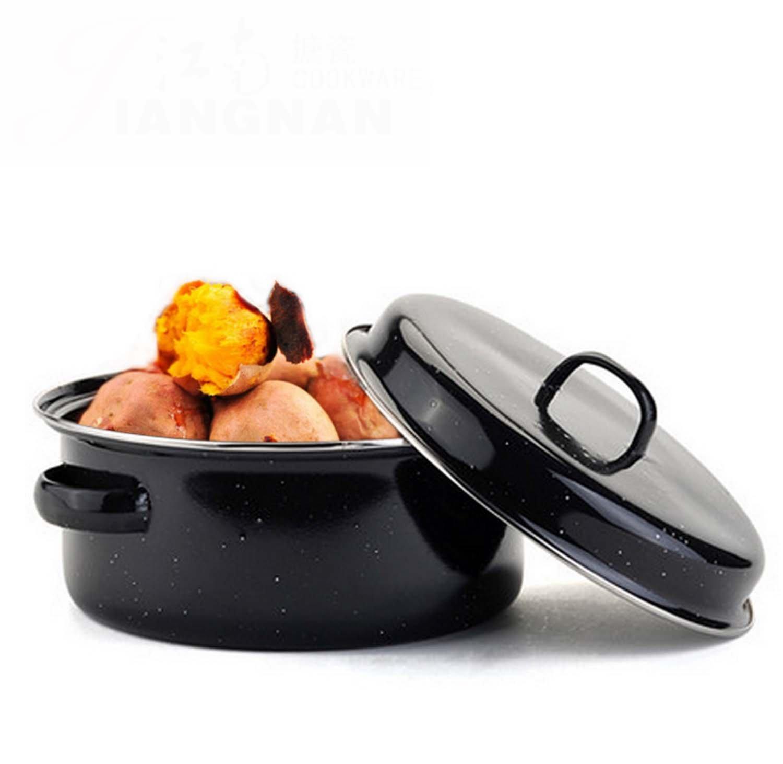 Korean Style Multifunctional Household Non-Smoking Grill Pot Baked Sweet Potato Barbecue Sauce Non-Stick BBQ Grilled Potato Pot Huaishu