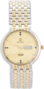 Olivera watch for Men - Analog Stainless Steel Band - OGP2498