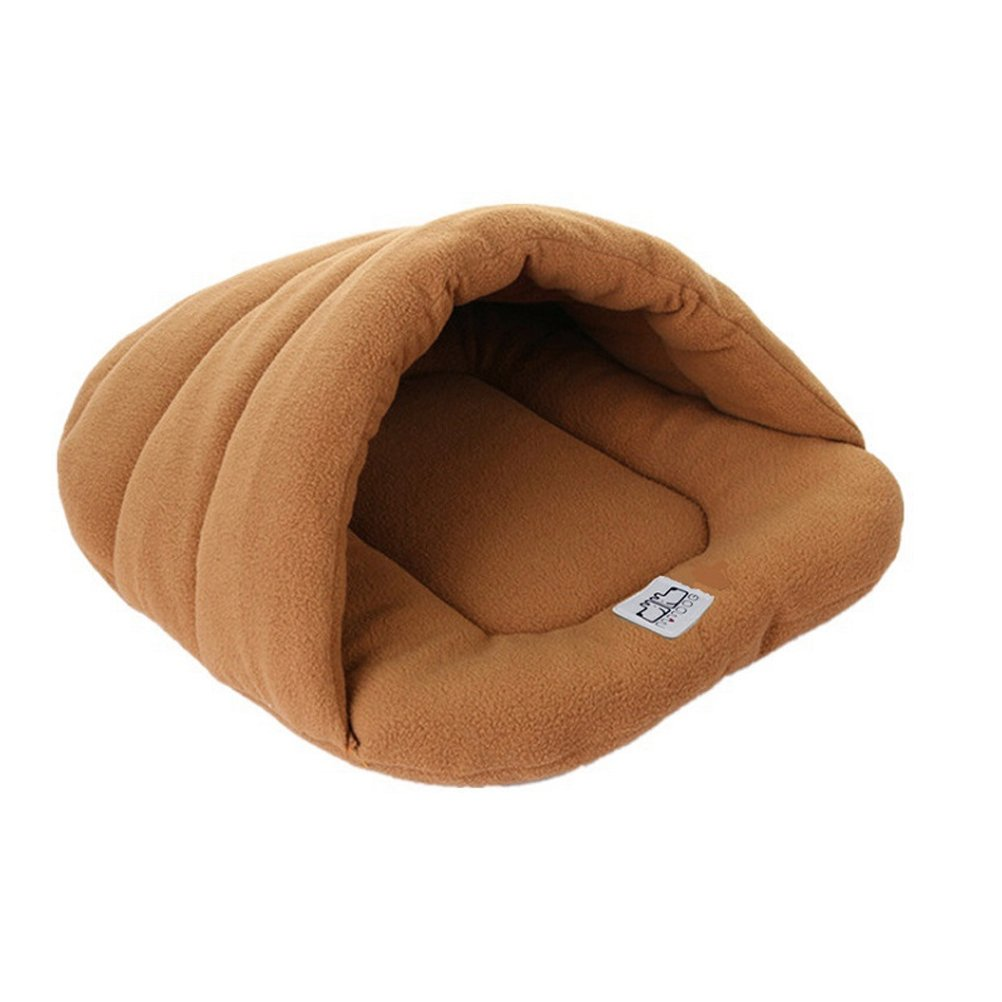 Dog Cave Bed Pet Cozy Sleeping Bag Dog Cushion Nest House for Puppy Cat Rabbit