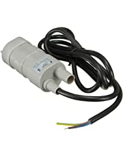 UEETEK 10L / M 12V Pompe à Eau Pompe à Eau Pompe à Eau Douce Pompe Submersible 5M Lift for Aquarium Pond
