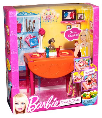 Miraculous Barbie Dinner To Dessert Dining Room Set Download Free Architecture Designs Itiscsunscenecom