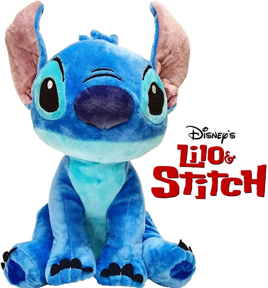 Play by Play Peluche Soft Stitch Disney con Sonido 20cm - (460018232)