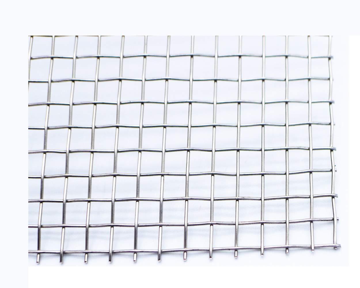 Amazon.com: Rollo de malla de alambre de acero inoxidable ...