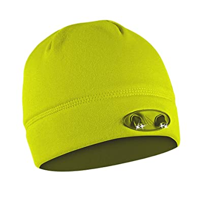 cde590903b32d POWERCAP LED Beanie Cap 35 55 Ultra-Bright Hands Free LED Lighted Battery  Powered