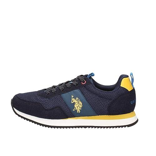 d90de22854 US Polo Assn NOBIL4215S8/HN3 Talbot 3 Sneakers Scarpe Uomo Sportive ...