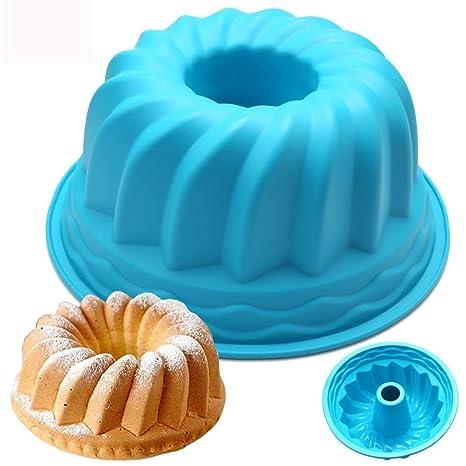 hunpta práctico anillo de silicona con forma molde para pasteles de repostería Pan utensilios de cocina
