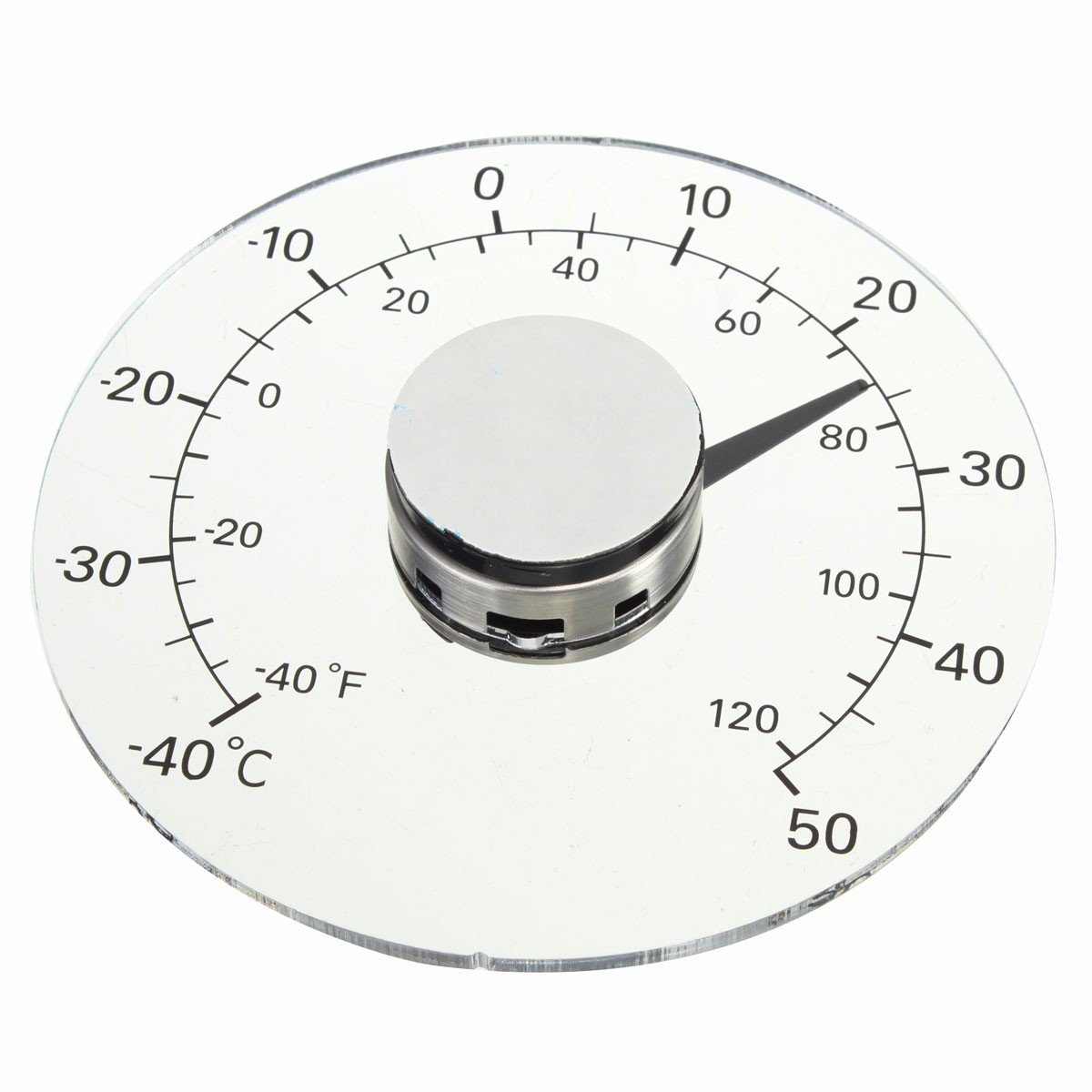 KING DO WAY Fensterthermometer Temperatur Meter Aussenthermometer Thermometer Wetterstation
