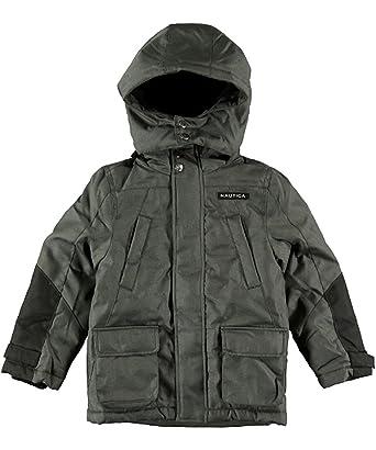 a71a115d1 Amazon.com  Nautica Little Boys  Snorkel Jacket - Grey - 4  Clothing