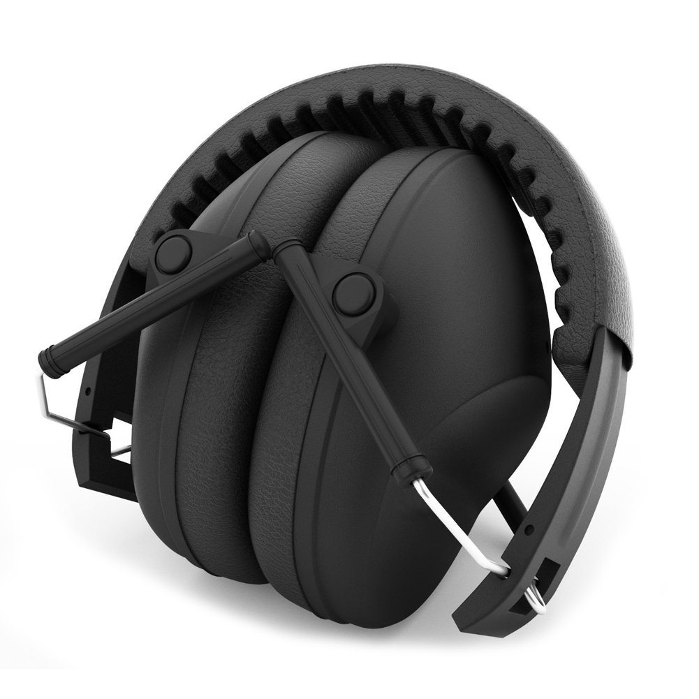 Micnaron Shooting Earmuffs/Hunting Ear Muff Adjustable Noise Canceling Folding Muff Headphone Headset Ear Plugs Ear Hearing Protection for Industrial Construction Drilling Mowing Military
