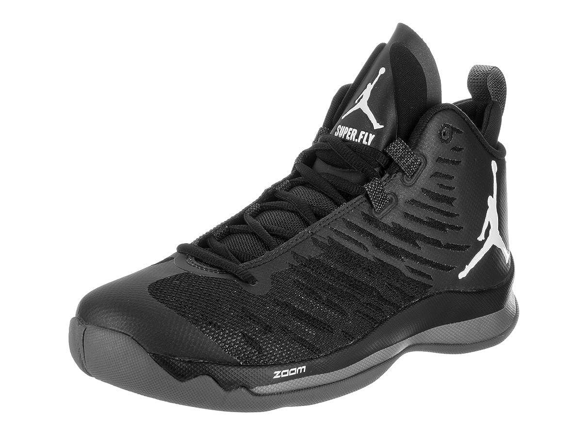 huge sale 8394a e95de Amazon.com  NIKE Mens Jordan Super.Fly 5 Black Mesh Trainers 10.5 US   Basketball