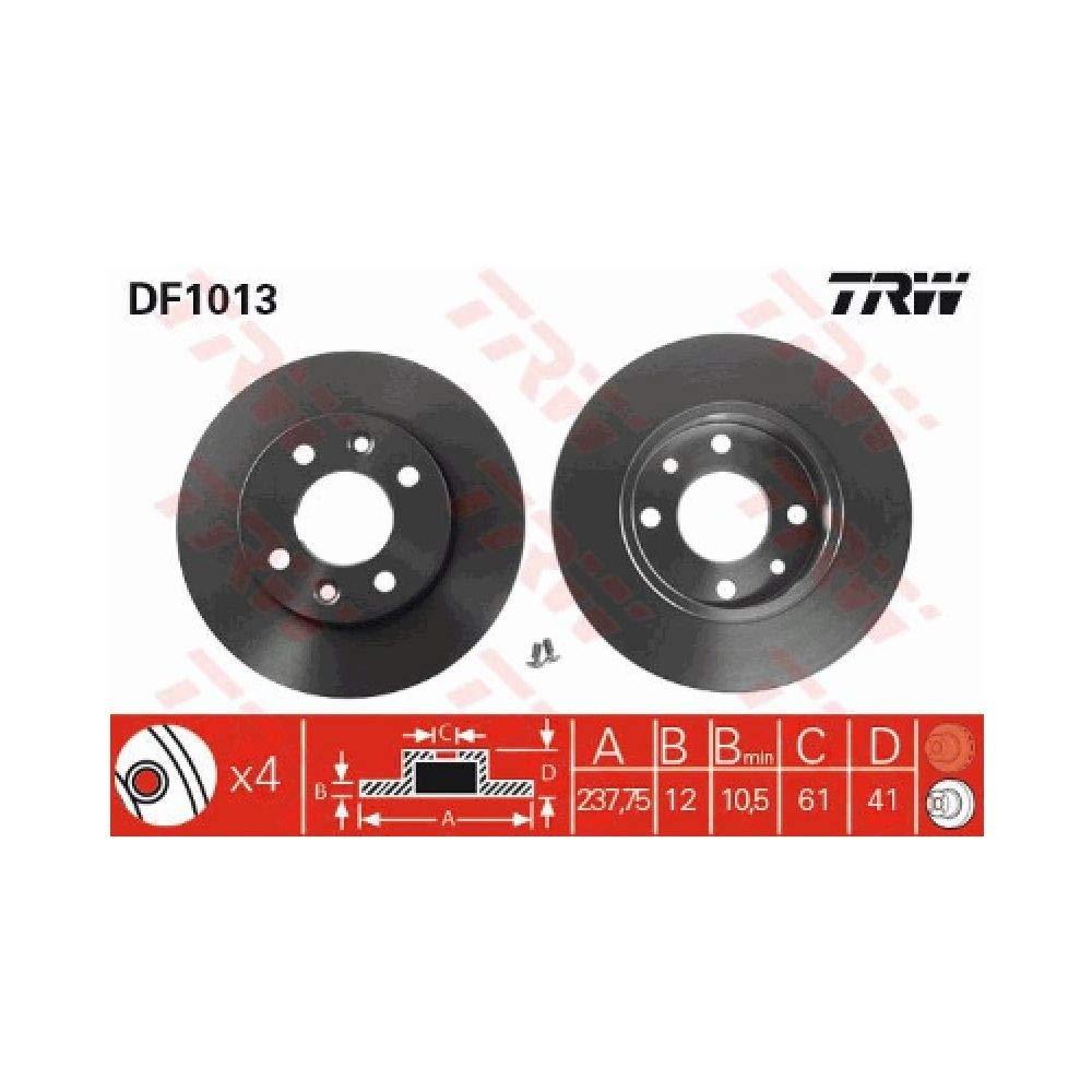TRW DF1013 Jeu de Disques de Frein TRW Automotive