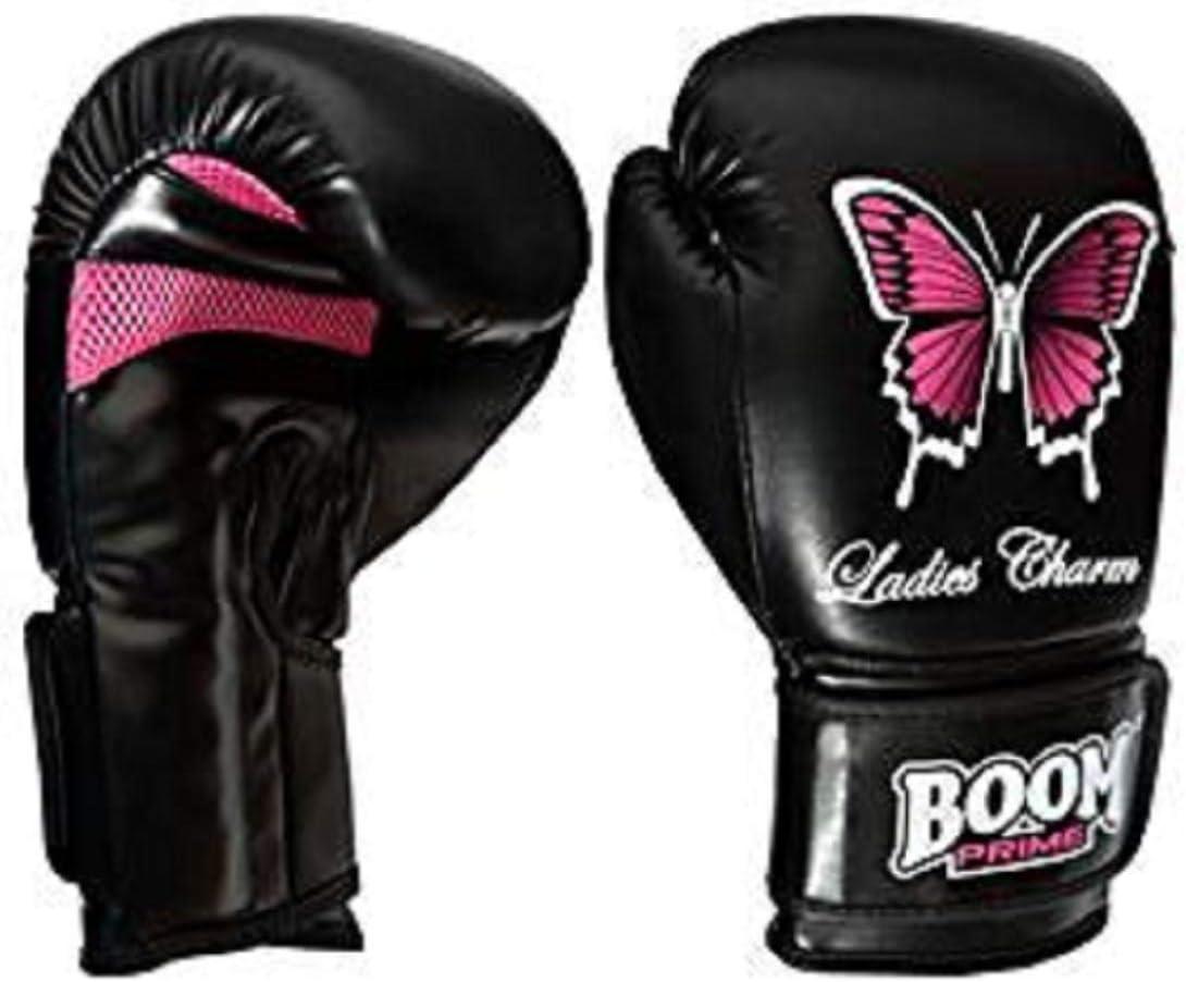 Guantes de boxeo, de cuero Rex 170 ml - 414 ml, para saco de boxeo, MMA, Muay Thai, artes marciales, pelea, Boom Prime: Amazon.es: Deportes y aire libre