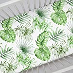 Carousel-Designs-Green-Painted-Tropical-Crib-Sheet-Organic-100-Cotton-Fitted-Crib-Sheet-Made-in-The-USA