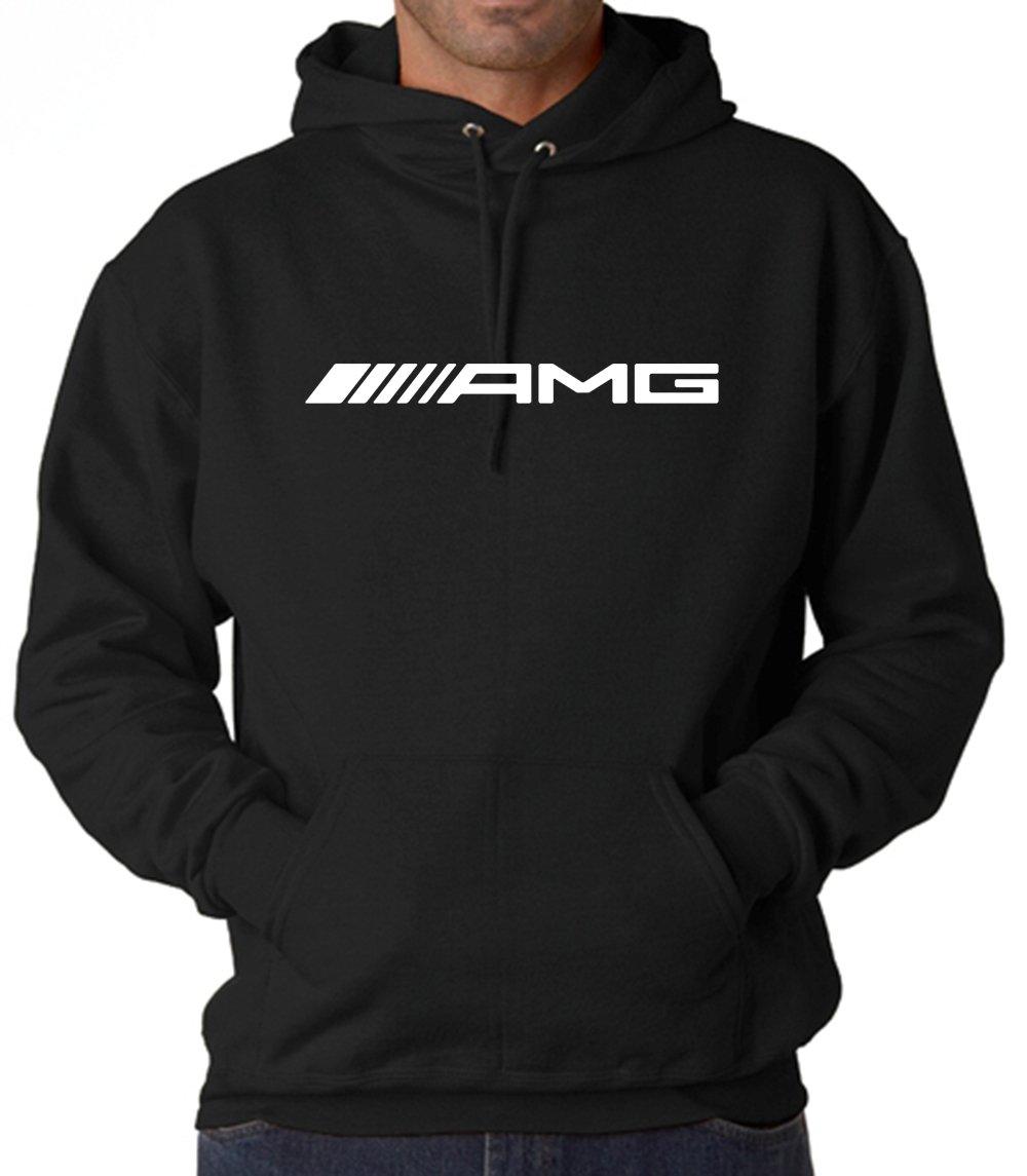 Mercedes-Benz AMG Maybach Emblem Unisex Hoodies Sweatshirts (AMG Emblem, Medium)