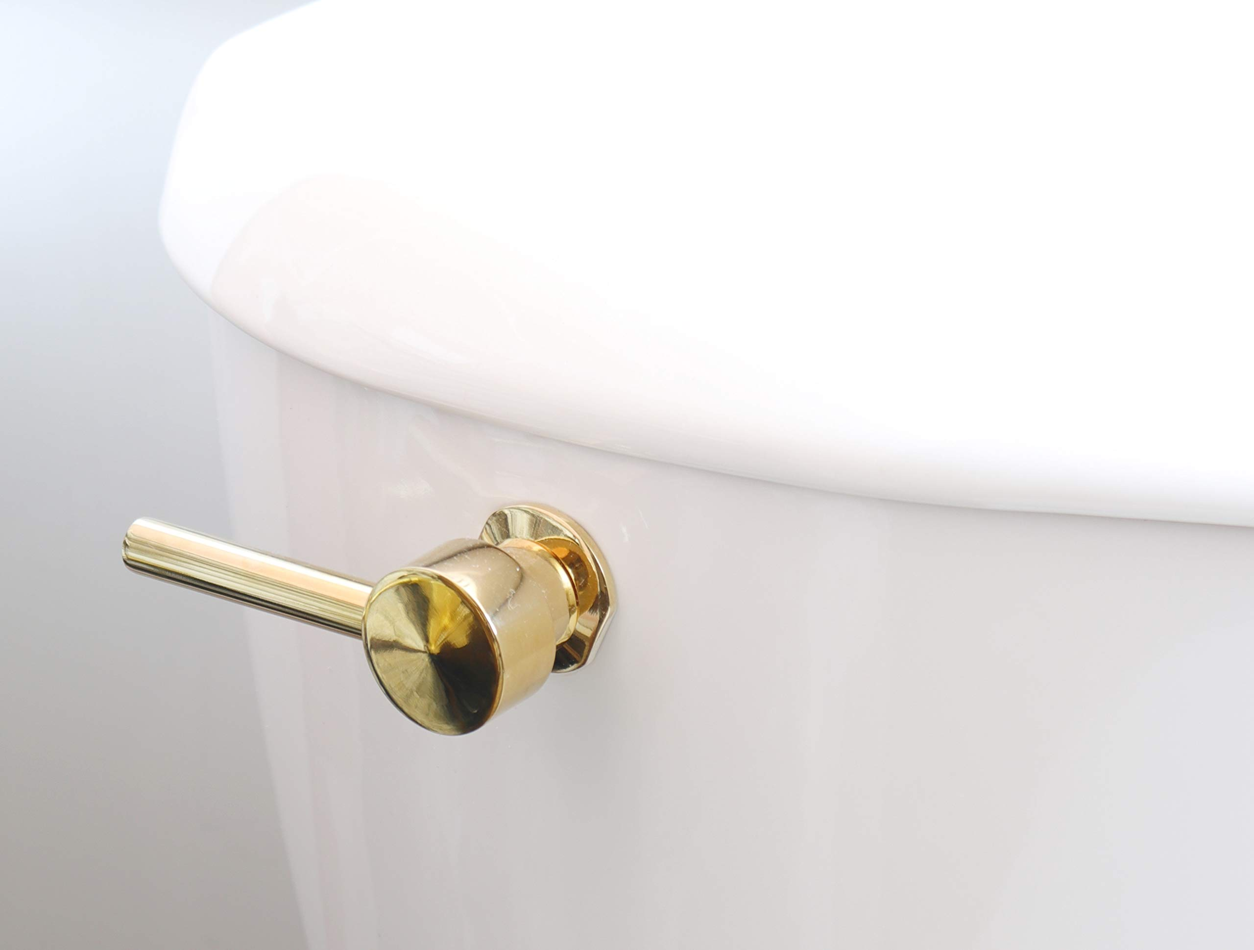 Kingston Brass KTDL2 Concord Tank Lever, Polished Brass, 2-13/16'' Handle Length by Kingston Brass (Image #3)