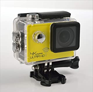 Action Camera 4K, WiFi Ultra HD 20MP Underwater Waterproof 40M Camcorder, 170 Degree Ultra Wide Angle Advanced Sensor EIS Stable Double 900 mAh Battery Evin