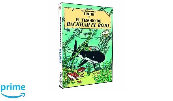 Tintin El Tesoro De Rackham El Rojo Dvd Amazon Es Animacion
