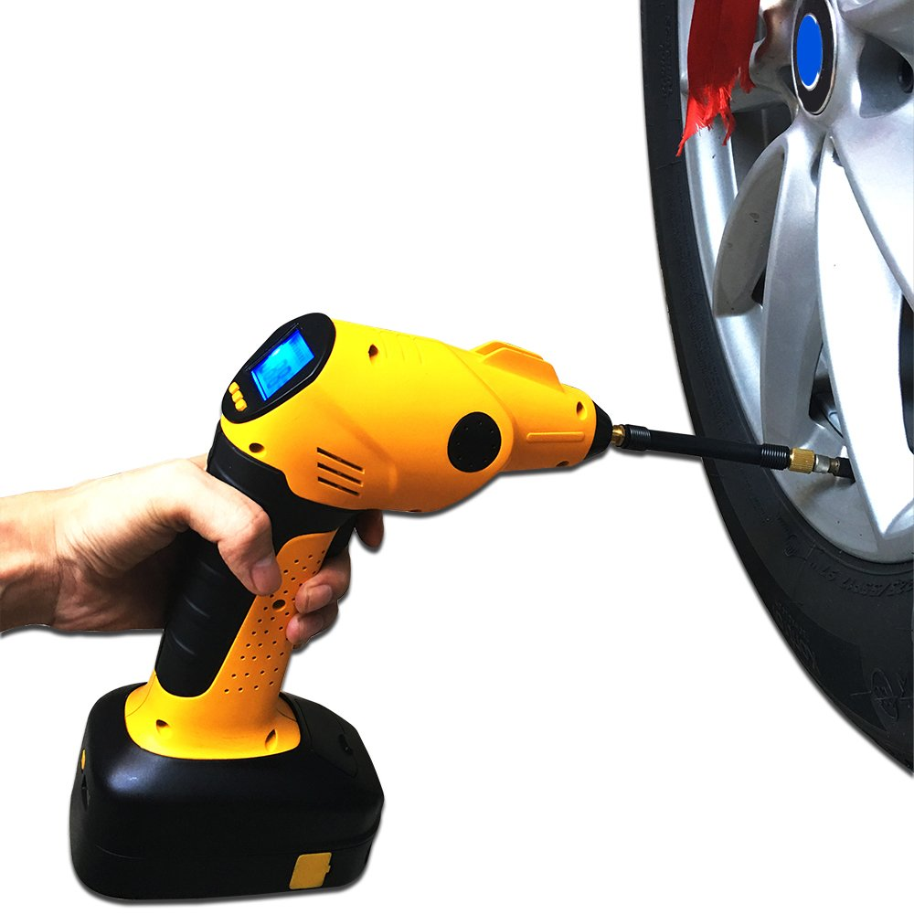 AllGear Portable Automatic Cordless Tire Inflator AllGearAuto