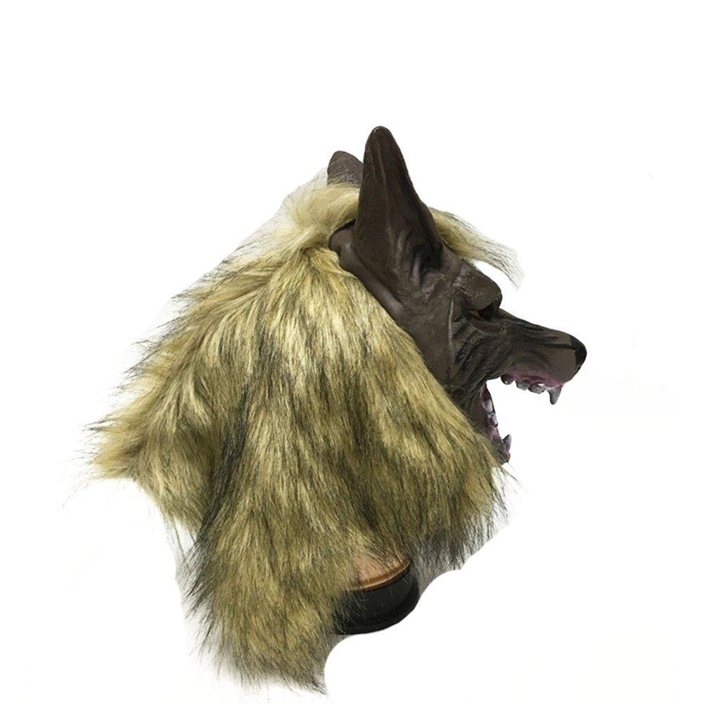 Ogquaton 1 Unids Máscara de Lobo Traje Veneciano Máscara de ...