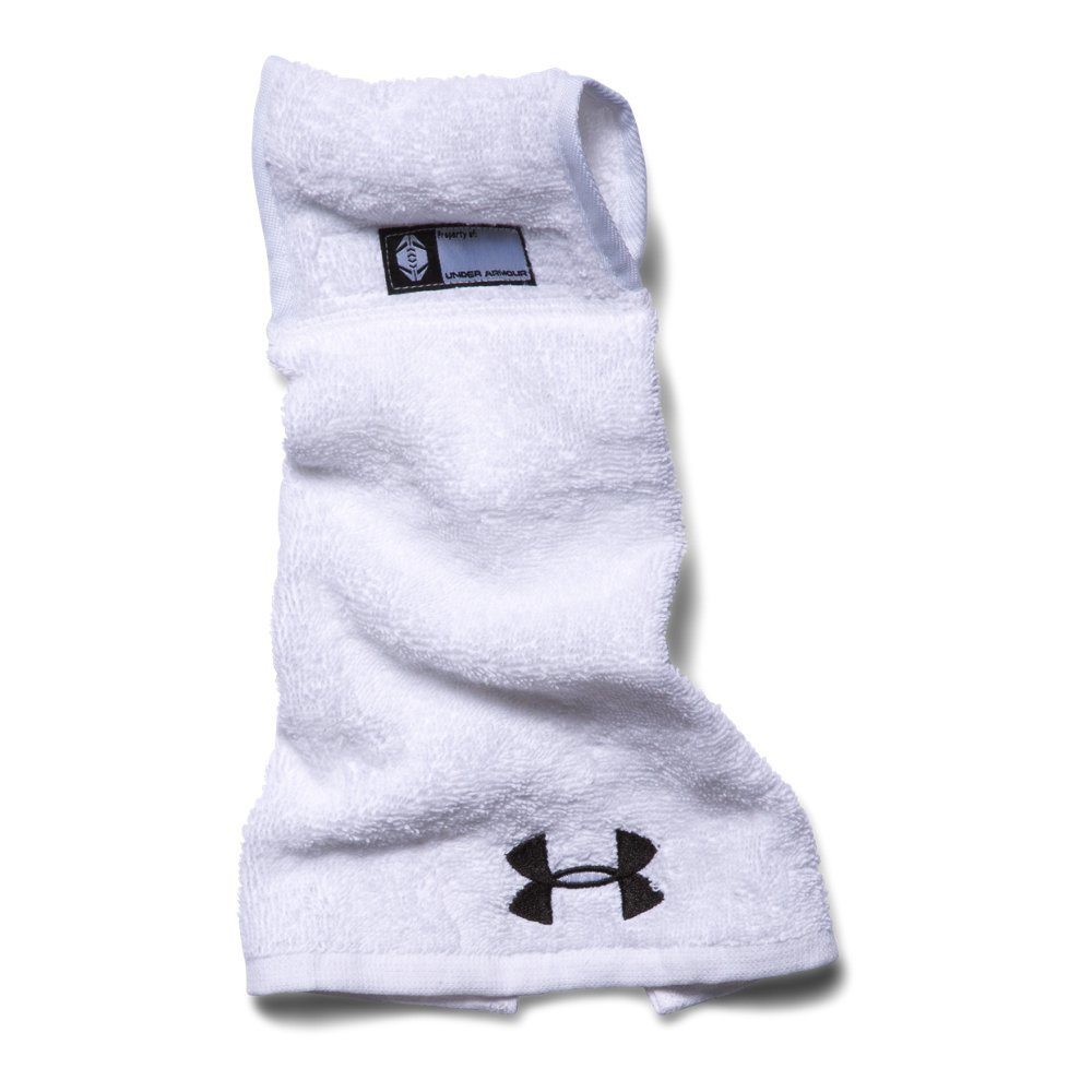 Under Armour Men's Undeniable Player Towel, White/White, One Size by Under Armour (Image #1)