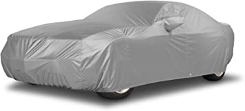 FS1307F5 Black Fleeced Satin Covercraft Custom Fit Car Cover for Select Chevrolet Chevelle Models