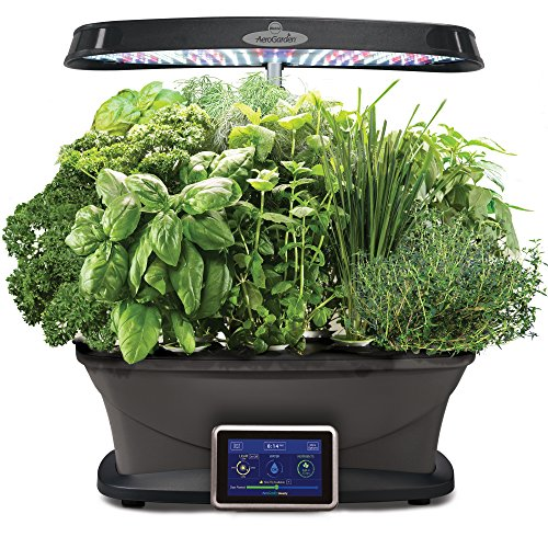 AeroGarden Bounty with Gourmet Herb Seed Pod Kit by AeroGrow