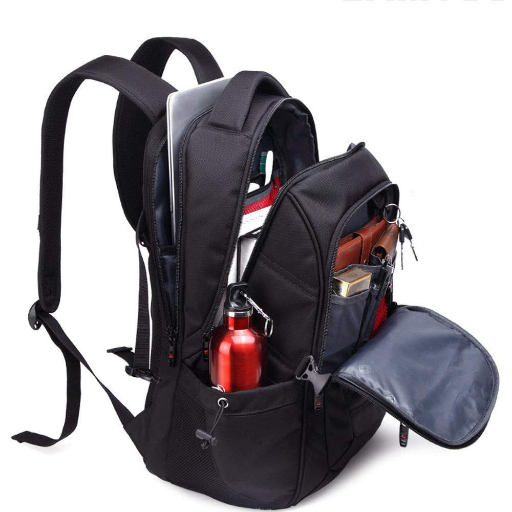 TtKj Sports Backpack Mens Travel Bags Canvas Waterproof Leisure Backpack Student Shoulder Bag