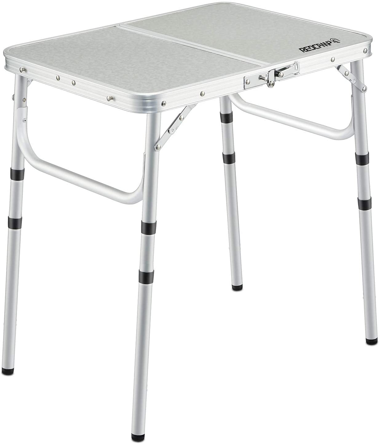 - Amazon.com: REDCAMP Small Folding Table 2 Foot, Adjustable Height