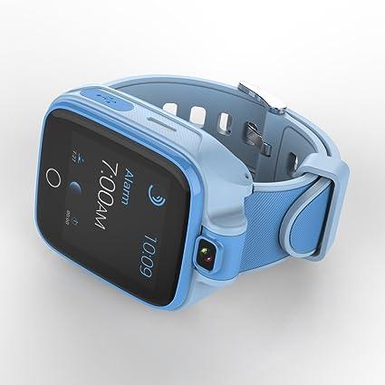 Smart Watches para niño niña Bluetooth Teléfono Relojes con GPS Tracker AGPS + lbs lugar con