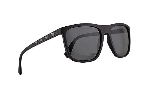 9d49df3d0081 Image Unavailable. Image not available for. Color  Emporio Armani EA4124 Sunglasses  Matte Black ...