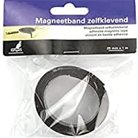 Magneetband Kangaro zelfklevend 25 mm x 1 meter, K-5061