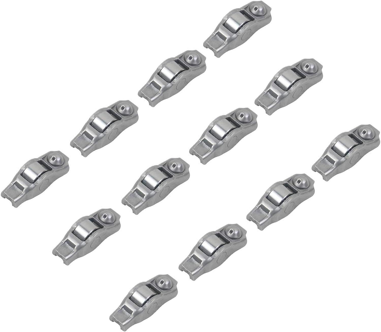 Part# 5184296AE 5184296 GELUOXI 12pcs Rocker Arms Kit Compatible with Chrysler Jeep Dodge 3.6L 5.7L 6.4L 2011-2019