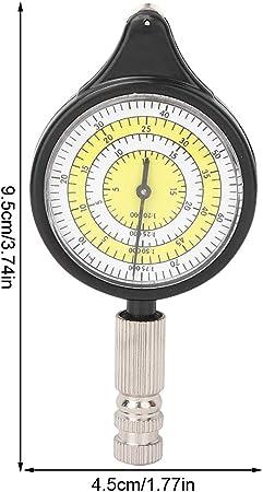 und Kartierungswerkzeug Hochwertige Metallr/äder Wincal Kartenmesser-Mini Outdoor-Kartenmessger/ät Entfernungsrechner Vermessungs